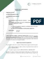 """Memorial 4 de Octubre de 2018Medimás solicitó medida cautelar a Tribunal de Cundinamarca por """"poca objetividad"""" de Procuraduría"""