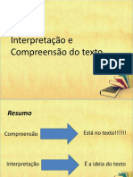 Interpretacao e Compreensao de Texto 190718