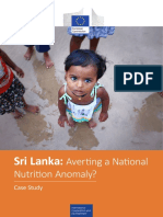 Sri Lanka - Averting a National Nutrition Anomaly 2