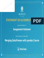 10. Merging Pandas Data Frame