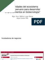 _Oportunidades Del Ecosistema Innovador Peruano Para Desarrollar Emprendimientos en Biotecnología
