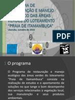 Programa de restauração e manejo ecológico das áreas
