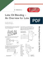 TB008-0512-2 Lube Oil Blending