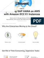 Otimização do SAP na AWS