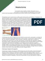 Fisioterapia Pós Mastectomia – Fisio e Masso