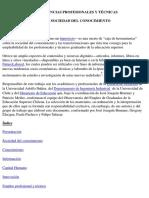 Hipertexto Sociedad Conocimiento