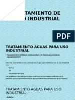 Tratamiento Aguas Para Uso Industrial