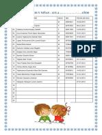 Lista de Niños y Niñas (1)