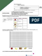 Prueba Matematicas Tablas y Graficos