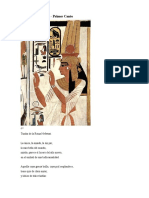 La Poesía Amorosa de Egipto