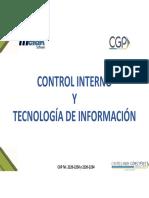 Presentacion Control Interno y Ti