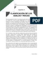 CAPITULO 3 CLASIFICACION DE SUELOS Y ROCAS DE ROSITA GB.doc