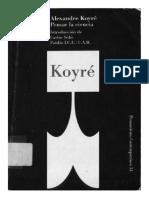 179927386 Alexandre Koyre Pensar La Ciencia
