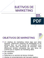 Objetivos y Estrategias de Marketing