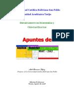 APUNTES DE ANÁLISIS NUMÉRICO +++