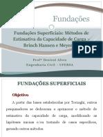 Aula 09 - Dimensionamento Fund Diretas