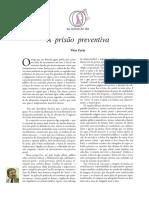 Vitor Faria _ Prisao Preventiva