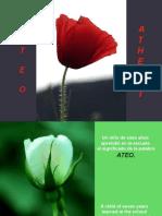 ATEO- ATHEIST