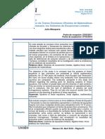 Estudio comparativo de la enseñanza de los sistemas de ecuaciones lineales en textos esoclares de matemática de Ecuador y Venezuela
