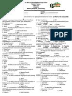 1st-Long Test in Pe & Health