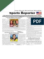 October 10 - 16, 2018  Sports Reporter