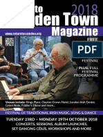 20th Return to Camden Town Festival Magazine/ Programme