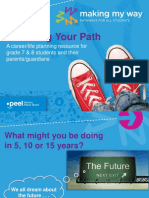 Making My Way Career and Life Planning Resource for Gr. 7 and 8 Students