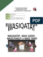 Danza Wasi Qatay