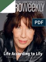 Metro Weekly October 11, 2018 Lily Tomlin