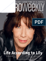 Metro Weekly October 11, 2018 Lily Tomlin