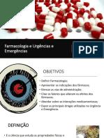 Farmacologia e Urgência e Emergências 2