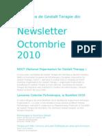 Gestalt Newsletter 1