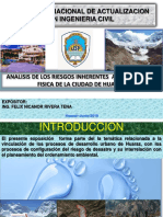 analisis de los riesgos en huaraz.pptx