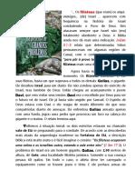 GIGANTE GOLIAS  (Revista Chamada Da Meia Noite)