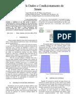 Aquisição de dados e condicionamento de sinais
