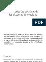 Características Estáticas de Los Sistemas de Medidas Completo
