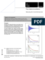 Free Rotational Oscillations
