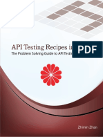 API Testing Recipes in Ruby Sample