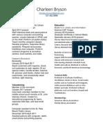 resume2017 - copyforlis