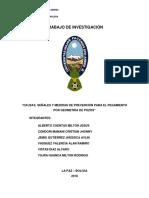 Problemas, Causas, Señales y Medidas de Prevencion de La Pegada de Tuberia en Perforacion de Pozos