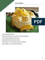 Torta Trufada Limao
