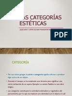 Categorias Esteticas