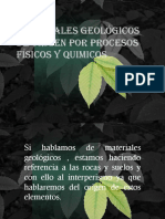 Materiales Geológicos