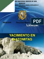 Yacimientos en Diatomitas
