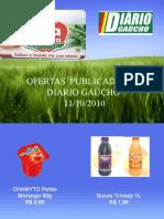 Ofertas do Boa Escolha no Diário Gaucho - 11/10/2010