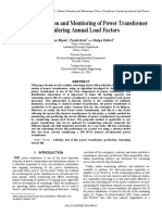 Lifetime Estimation and Monitoring of Power Transformer Considering Annual Load Factors(2013)
