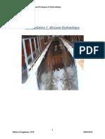 TP-Hydraulique-Compte Rendu Des Travaux Pratiques d'Hydraulique