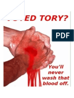 Voted Tory Barstards