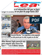 Periódico Lea Jueves 11 de Octubre Del 2018