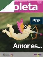 Revista Violeta  Especial  Amor es